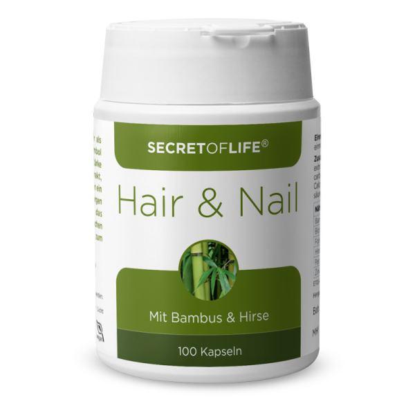 Secret of Life Hair & Nail Kapseln 100 Stück